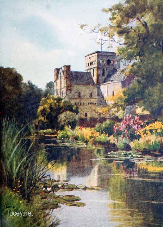 Wilfrid Ball Watercolours of Hampshire