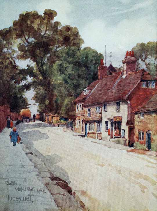 Wilfrid Ball Watercolours of Sussex